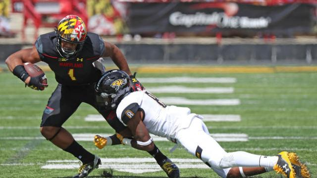 NCAA Football: Towson at Maryland