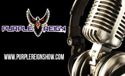 Purple Reign Mic Logo