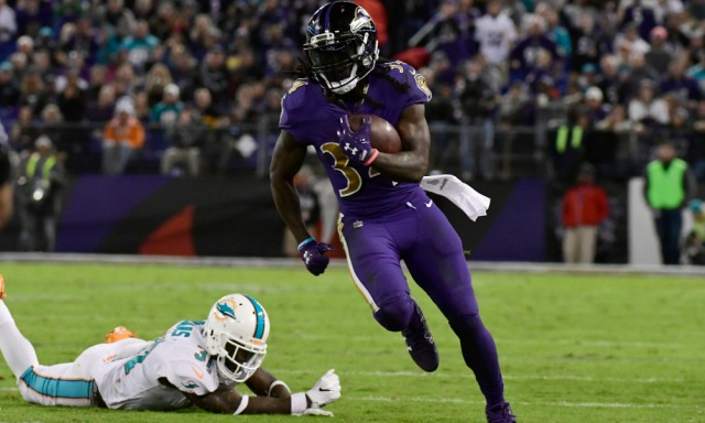 NFL: Miami Dolphins at Baltimore Ravens