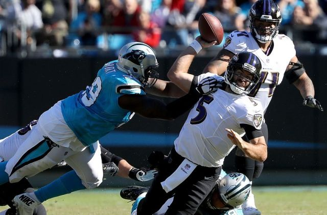 Baltimore Ravens v Carolina Panthers